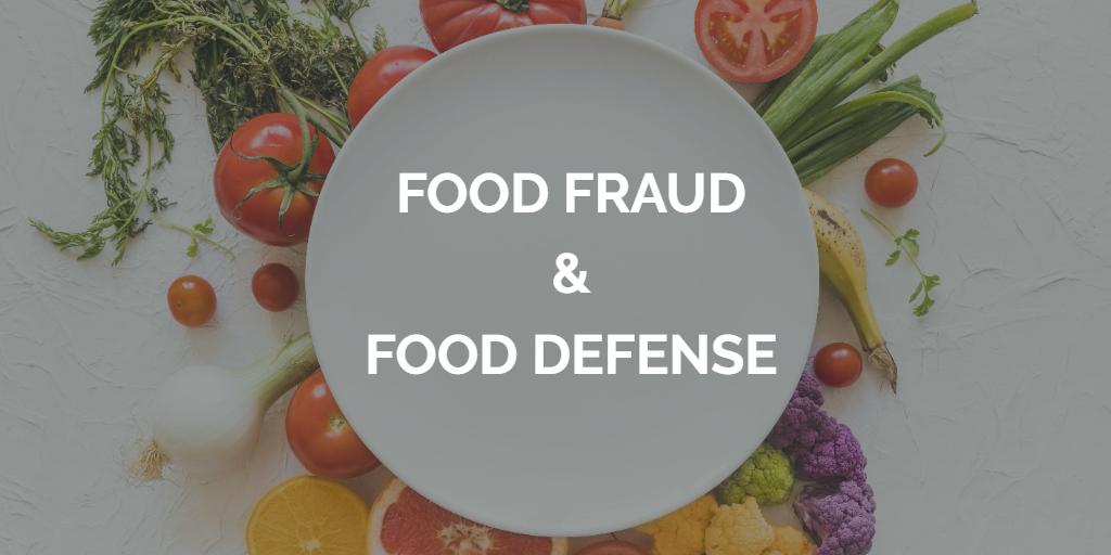 ОДНОДНЕВНЫЙ ОНЛАЙН КУРС-CЕМИНАР Food Defense & Food Fraud